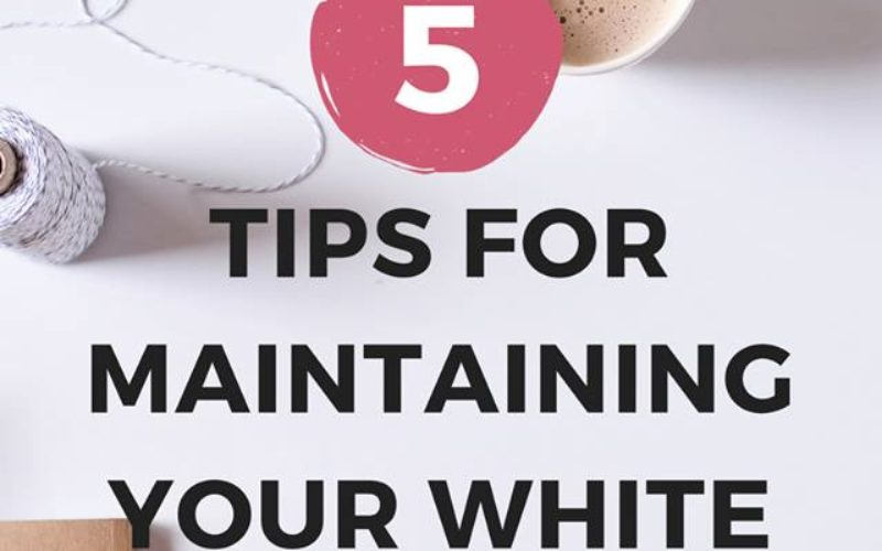 How to Maintain White Teeth